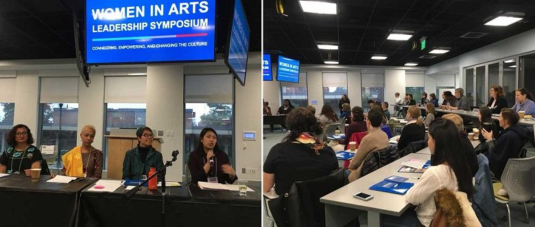 December 2018 Community News and Events, Women in Arts Leadership Symposium